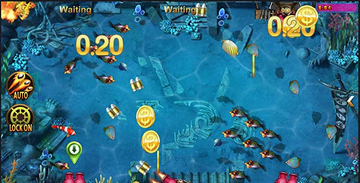fish shooting game agent